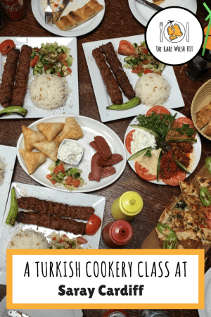 A Turkish food cookery class at Saray Restaurant in Cardiff, including traditional and easy dishes like Adana lamb kebabs, vegetarian dishes, Turkish pizza (pide), mixed meze, bread and dessert #turkishfood #turkishcuisine #turkishpizza #pide #kebab #cardiff #cookeryclass