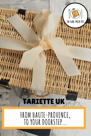 Did you know Tariette can deliver Provencal food straight from Haute-Provence to your doorstep_ WIN a French food hamper worth £100! #tarietteuk #provencalfood #frenchfood #provencefoods #hauteprovence #provence