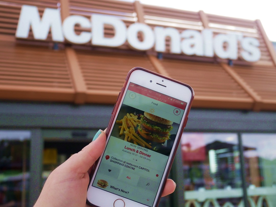 How to Order McDonald's Using the Click & Collect App