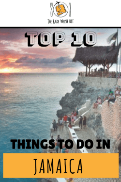 Top 10 Things to Do in Jamaica, including Montego Bay, Negril, Ocho Rios, Kingston and more. From horseback riding and climbing waterfalls, to cliff-diving and crocodile spotting, add these activities to your Jamaica travel bucket list now! #jamaica #negril #montegobay #cohorios #kingston #caribbean