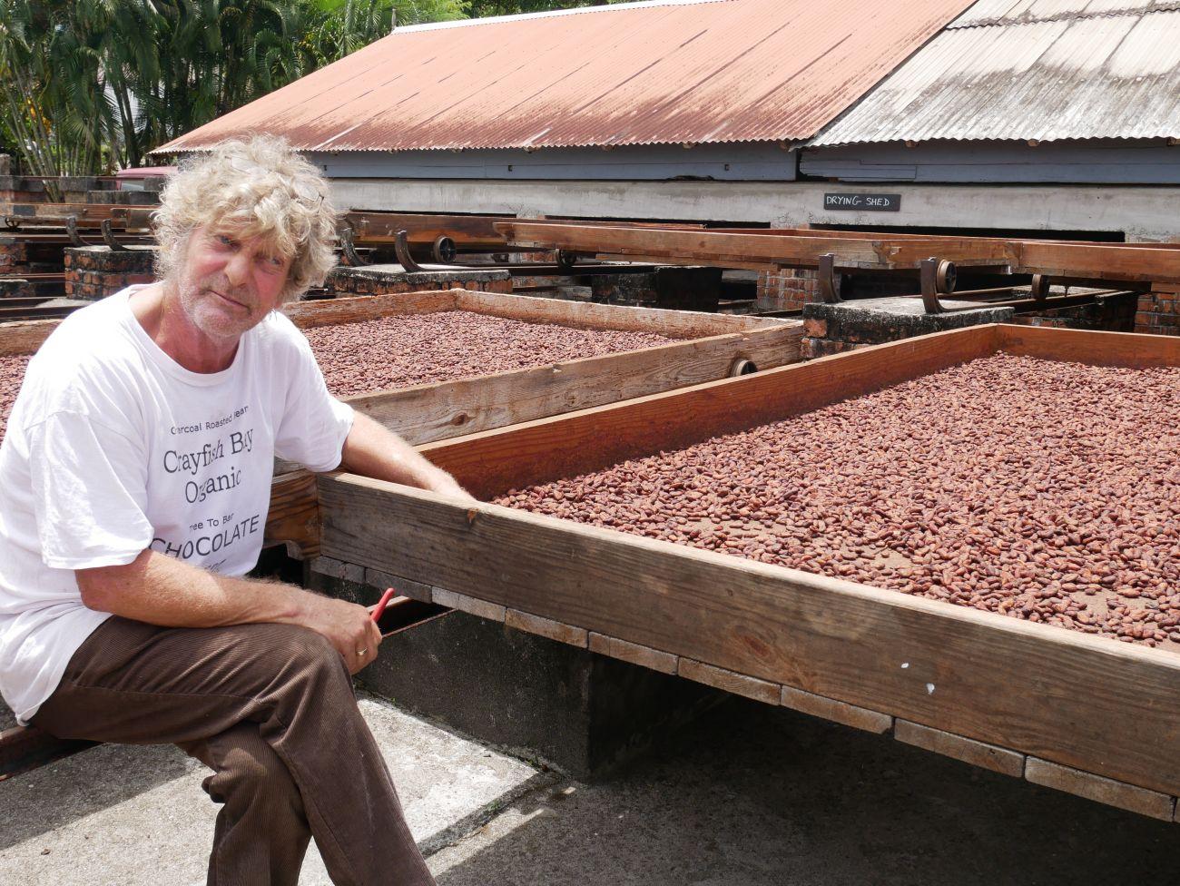 Kim Russell, Crayfish Bay Organics