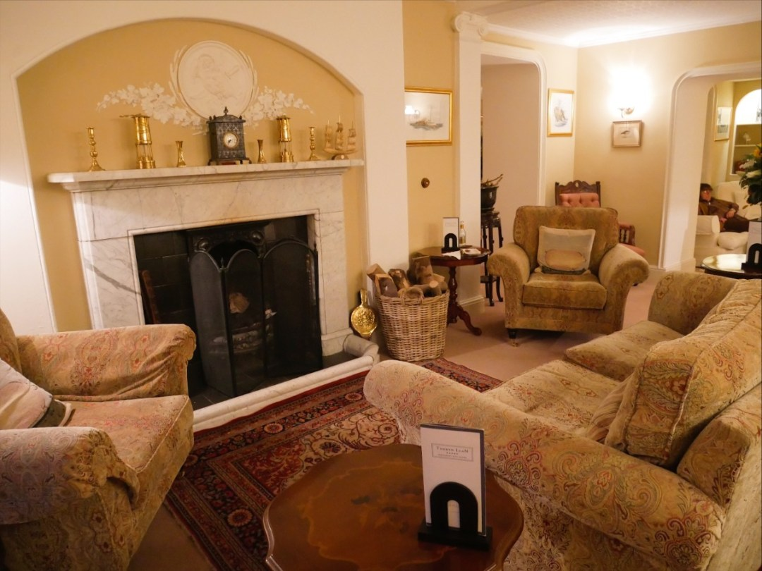 Tyddyn Llan's sitting room (Llandrillo, Corwen)