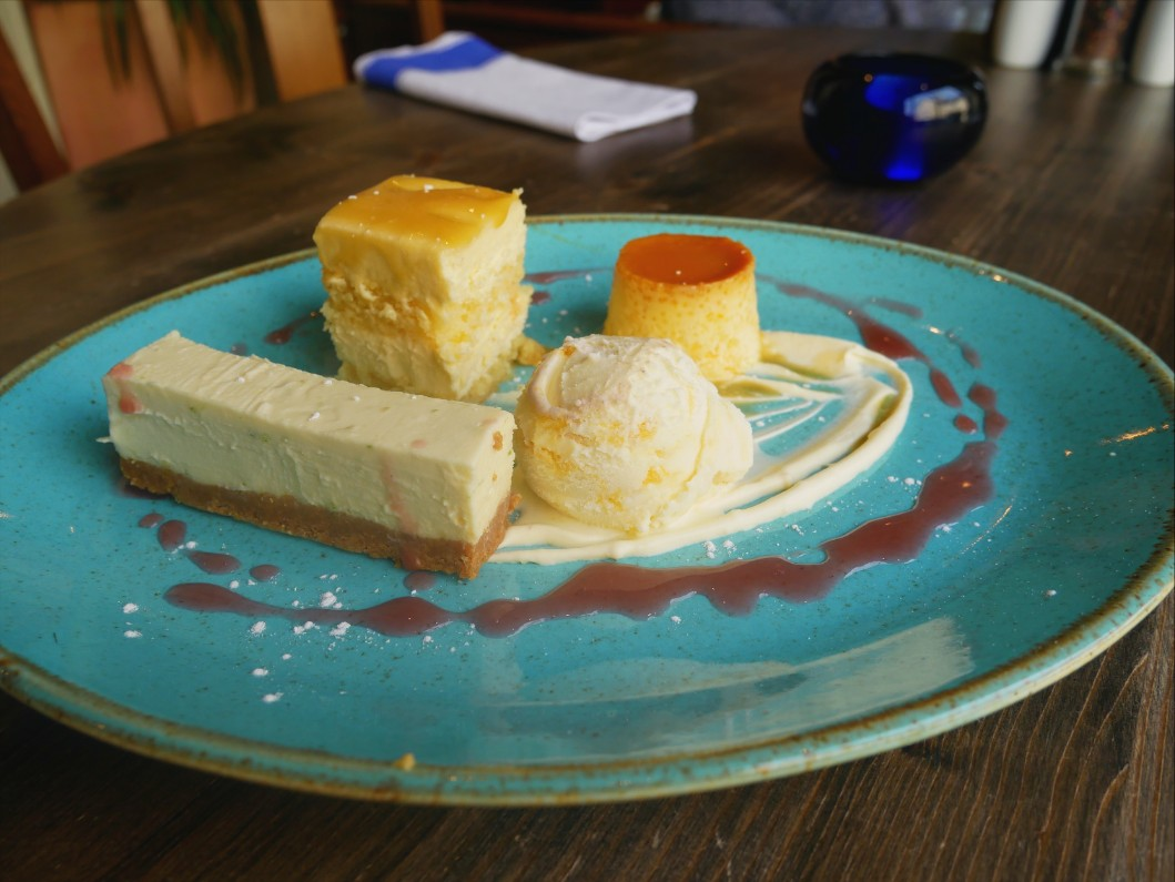Citrus trio at On the Hill in Ruthin, Denbighshire