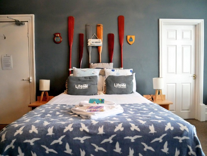 Bedroom at The Pier Hotel