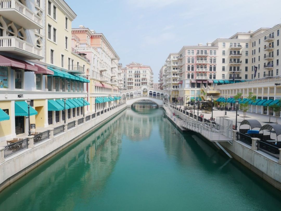 Little Venice, near The Pearl in Doha,Qat