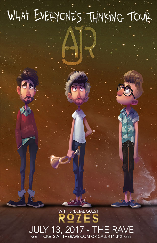 the rave eagles club poster ajr 7 13