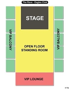 The rave eagles club seating chart also rh theraveeaglesclub
