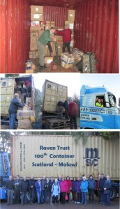 100 container web