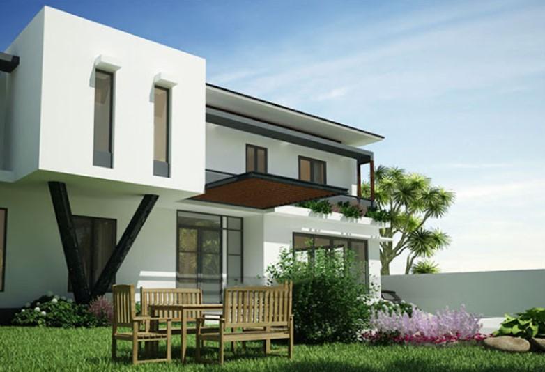 Desain Rumah Minimalis Dengan 3ds Max  jasa desain rumah di cipondoh tangerang raw architects