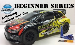 RC Beginner Series - Adjusting Camber and Toe-cover