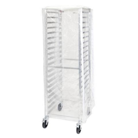 winco alrk 20 cv sheet pan rack cover for 20 30 tier racks