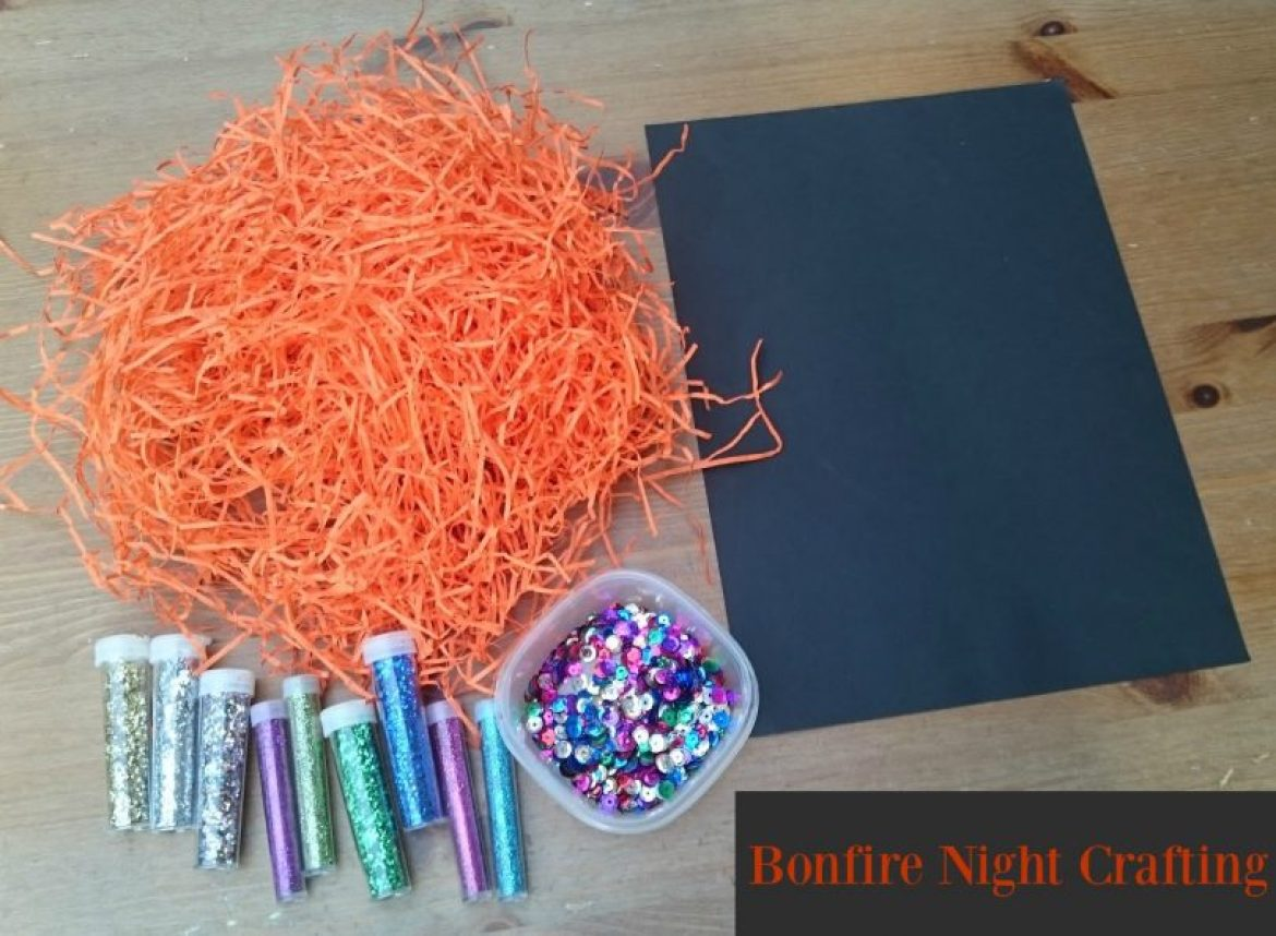 Bonfire Night Crafting