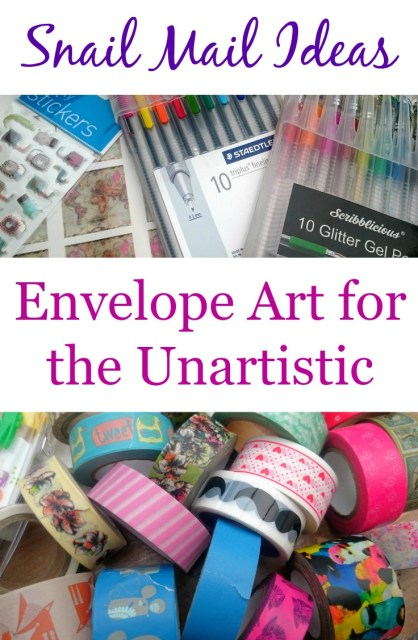 Snail Mail Ideas Envelope Art for the Unartistic