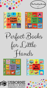 Little Books for Little Hands, Perfect Books, Baby Books, Toddler Books, Usborne Books & More