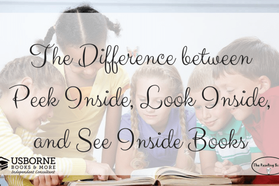 Peek Inside, Look Inside, See Inside, Usborne Books & More, Lift-the-flap books