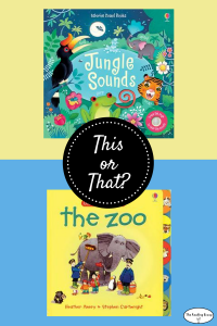 This or That? Animals Books for a 2-year-old.