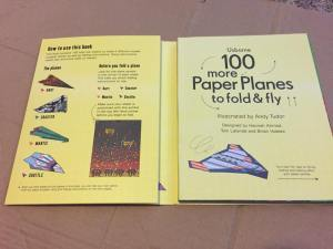 Fun with paper planes