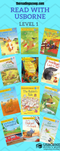 Level 1 Read with Usborne, Early Readers, Check out more at thereadingscoop.com