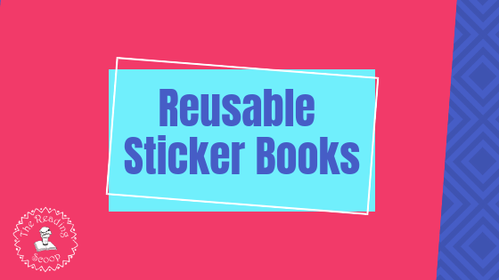 Reusable Sticker Books