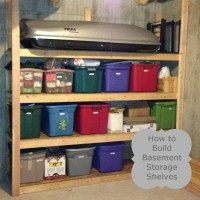 How to Build Basement Storage Shelves | The Ready's Home