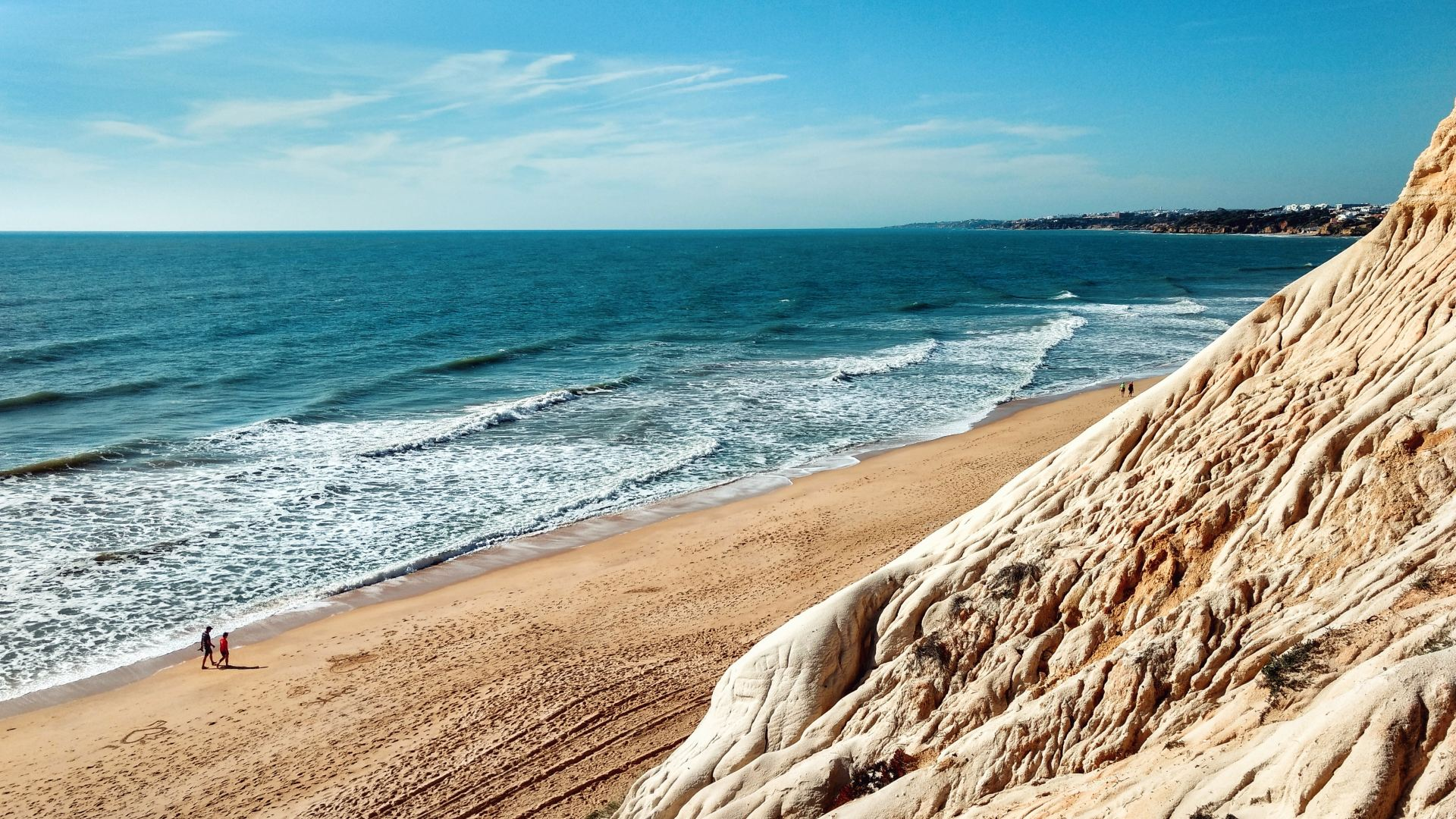 One of the most amazing beaches on the Algarve, with golden sand and clear blue ocean
