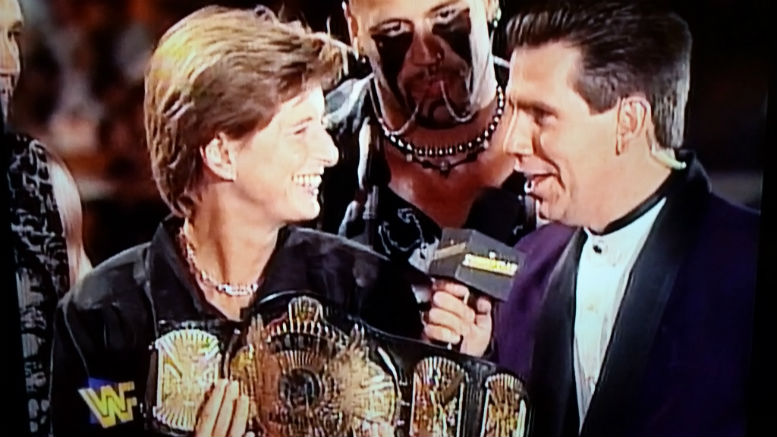 Summer Slam Memories (1997): Austin Breaks His Neck and No One Wins A Million Dollars, Christie Todd Whitman
