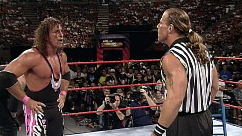 Summer Slam Memories (1997) Steve Austin Breaks His Neck And No One Wins A Million Dollars, Bret Hart, Shawn Michaels