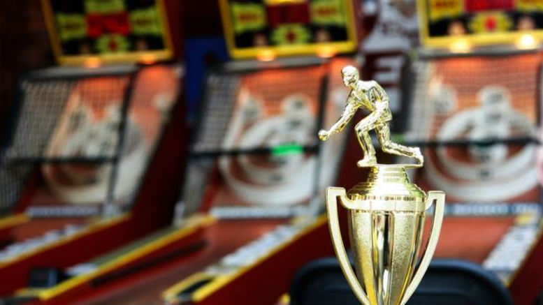 Style #4 For Any Skeeball Tournament New Skee Ball First Place Trophy For Men