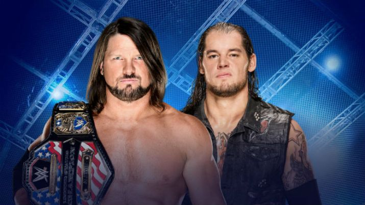 Preview and Predictions WWE Hell In A Cell 1082017 AJ Styles Baron Corbin