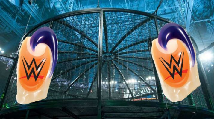 WWE Elimination Chamber to Become Tide Pod Elimination Chamber Challenge