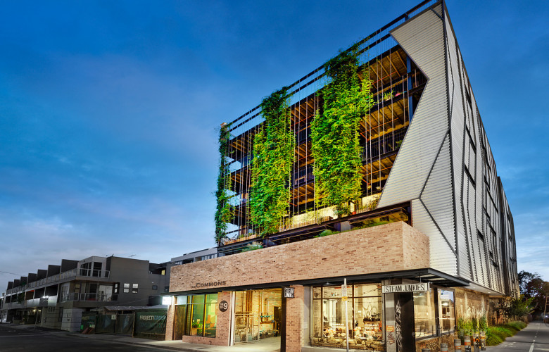 First apartment in ecofriendly The Commons sells for