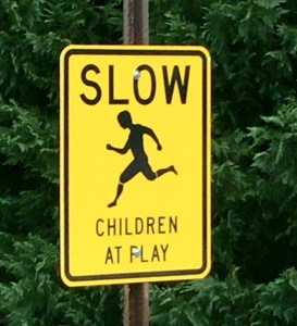 Slow children playing, Slow, Children playing, traffic sign, sign,
