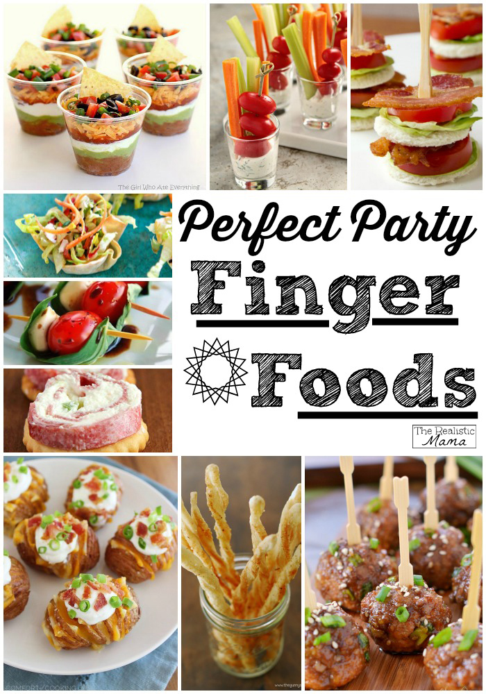 15 Party Finger Foods  The Realistic Mama