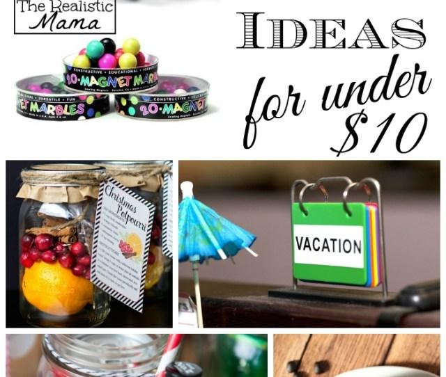 Easy Gift Ideas Under
