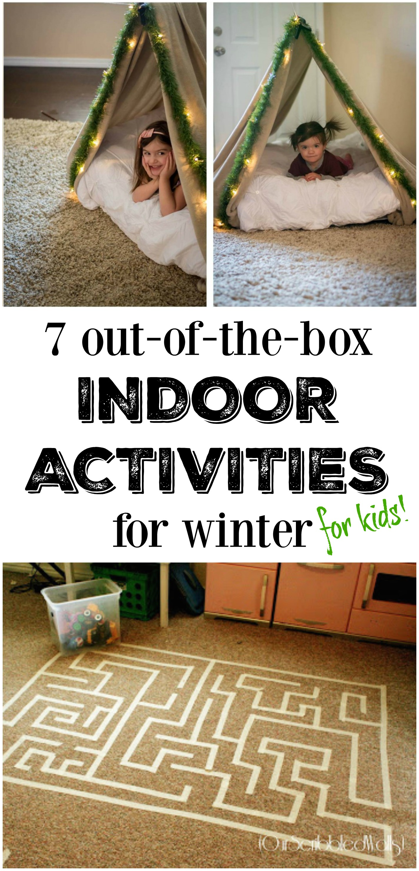 7 Out Of The Box Indoor Winter Activities For Kids