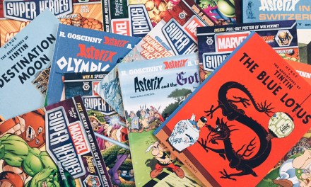 My kids read comic books, do yours?