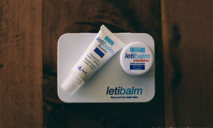 Review : Letibalm and my struggling dry lips
