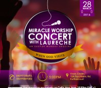 Laureche discloses reason behind MIRACLE WORSHIP CONCERT in Port-Harcourt