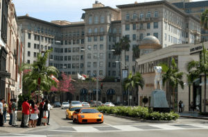 Rodeo Drive and Beverly Hills tour
