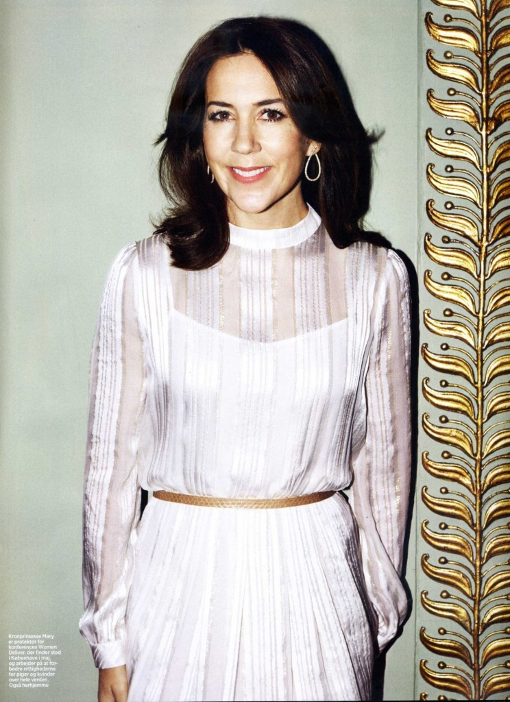 Crown Princess Mary Covers Eurowoman This Month As Patron