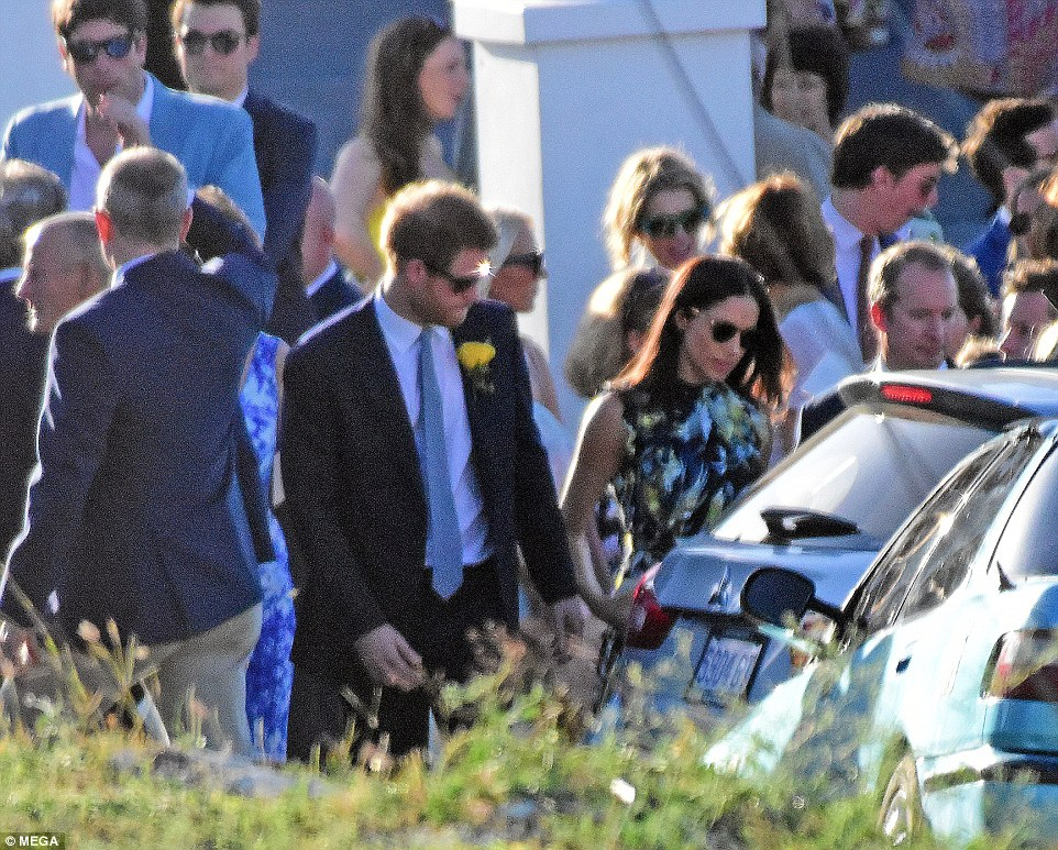 Prince Harry and Meghan Markle attended the wedding of Tom