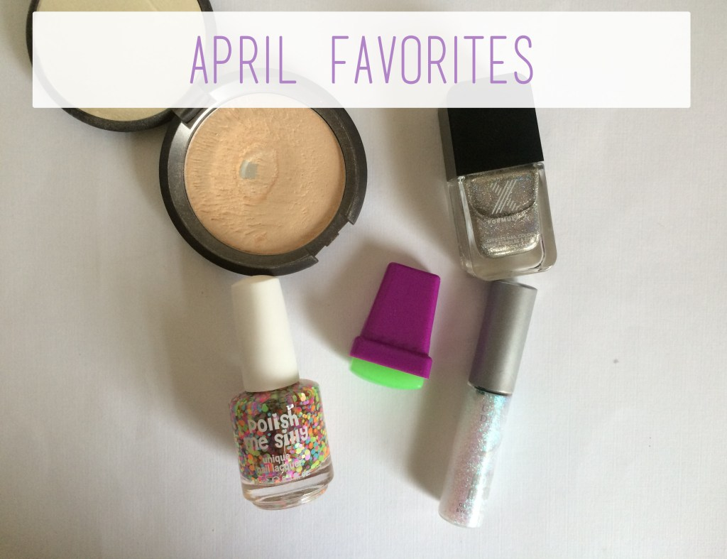 April Favorites Title | The Rebel Planner