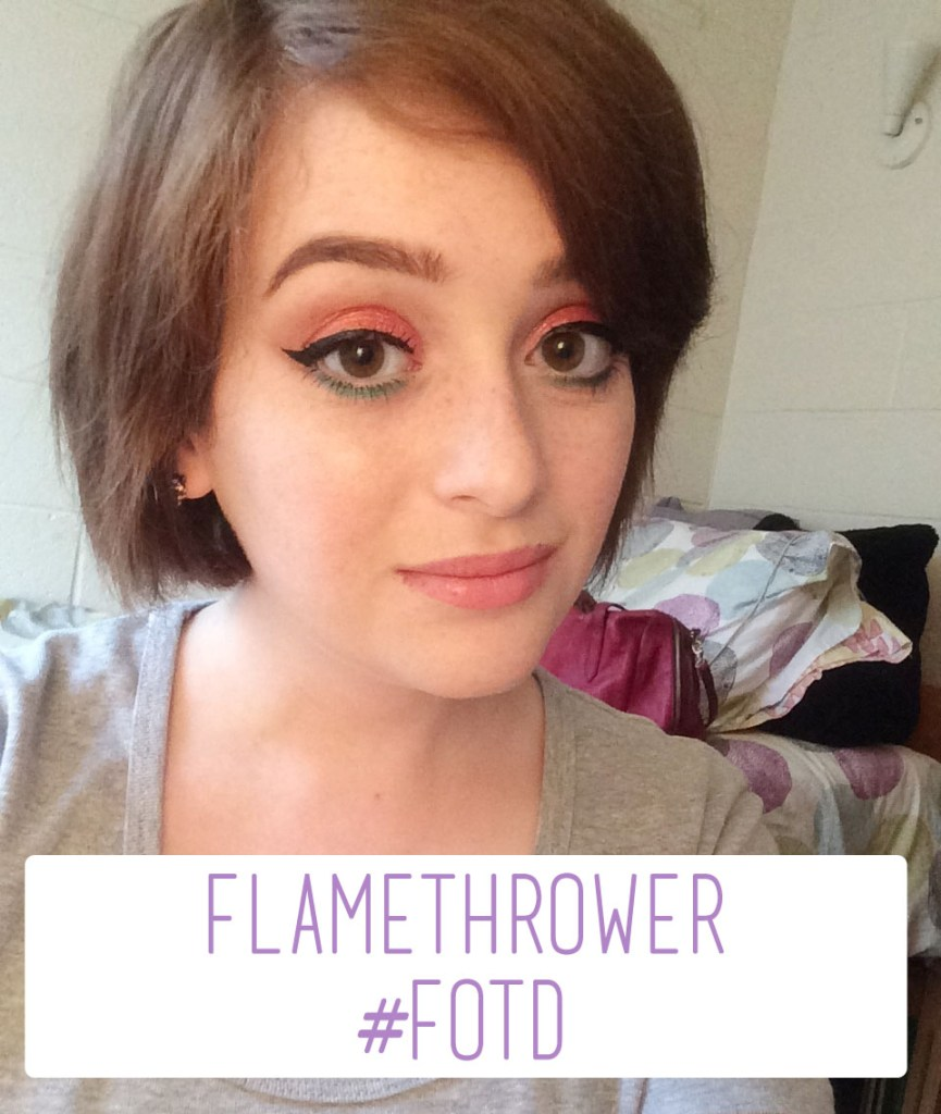 Flamethrower #FOTD | The Rebel Planner