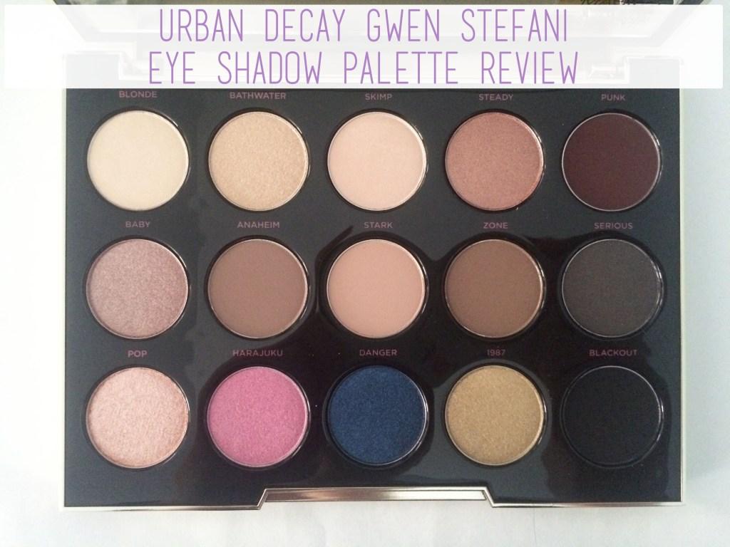 Urban Decay Gwen Stefani Palette   The Rebel Planner