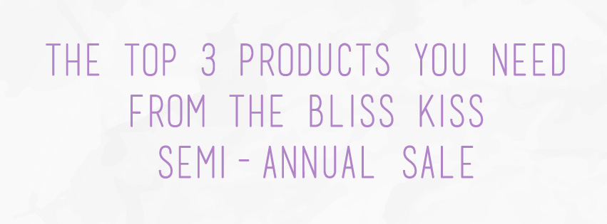 Bliss Kiss Semi-Annual Sale | The Rebel Planner
