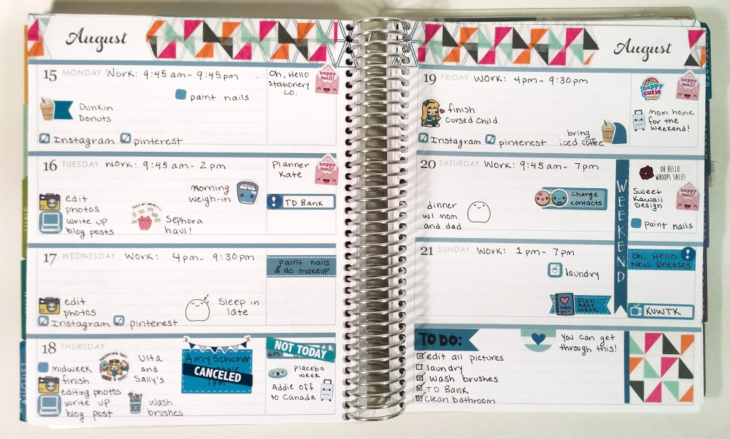 A Year in My Erin Condren | The Rebel Planner
