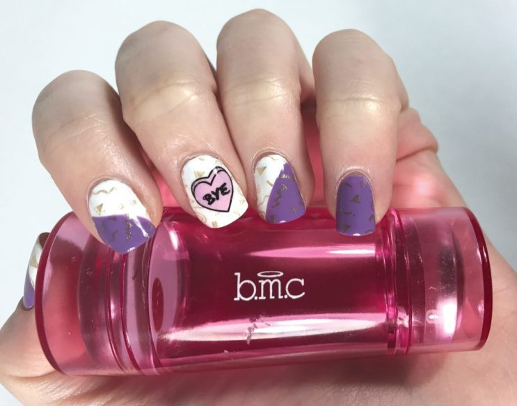 Bundle Monster Teenage Dream Candy Heart Nails