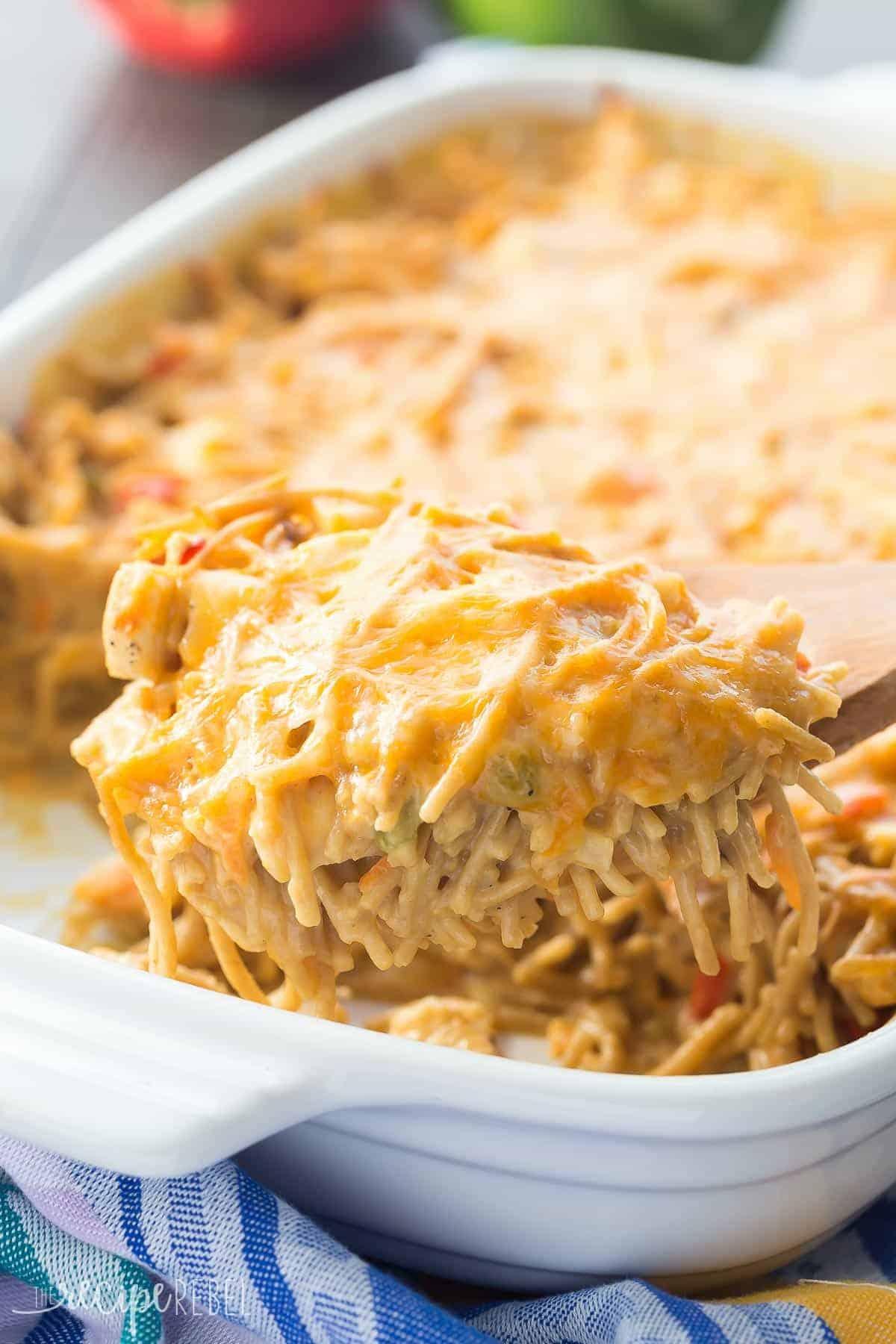 pioneer woman recipe for chicken spaghetti