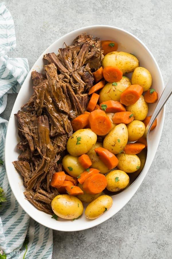 Perfect Instant Pot Pot Roast Recipe (pressure cooker pot ...