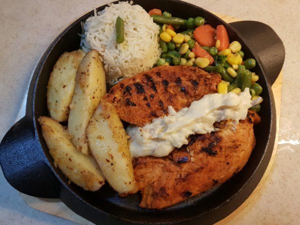 spicy chicken steak recipe in urdu